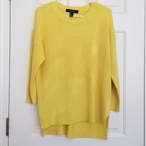 Forever 21 yellow sweater size L